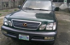 Lexus LX 470 2000 Green for sale