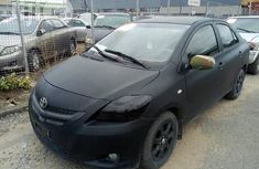 Clean Toyota Yaris 2009 Black for sale