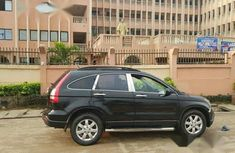 Clean Honda CRV 2009 Black for sale