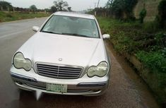 Clean Mercedes-Benz C240 2003 Silver for sale