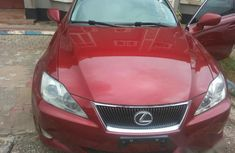 Tokunbo Lexus IS 2008 Red for sale