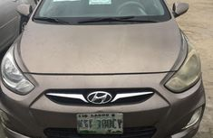 Hyundai Accent 2014 Brown for sale