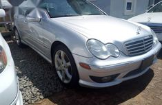 Clean Mercedes Benz C230 2007 Silver for sale