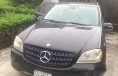 Mercedes-Benz Ml 350 2006 Black for sale
