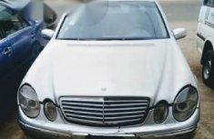 Mercedes Benz E240 2002 Silver For Sale