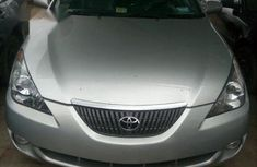 Clean Toyota Solara 2002 Silver for sale
