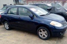 Nissan Versa 2009 Blue for sale