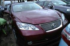 Lexus ES350 2008 Maroon for sale