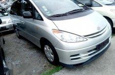 Toyota Previa 2004 Silver