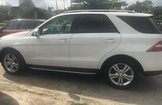 Mercedes Benz ML 350 2014 White for sale