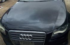Clean Audi A4 2009 Black for sale