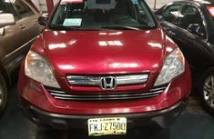 Clean Honda CRV 2008 Red for sale