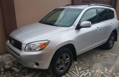 Toyota RAV4 4WD 2006 Silver for sale