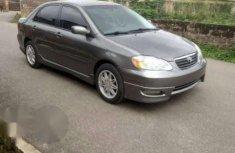 Clean Toyota Corolla Sport 2007 Gray for sale
