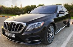 Mercedes-Benz S Class S550 2016 Black for sale