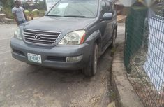 Clean Nigerian Used Lexus GX470 2004 Gray For Sale