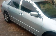 Neatly Used Honda Accord 2005 Silver For Sale