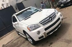 Tokunbo Mercedes Benz ML550 2008 White