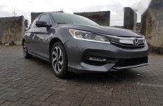 Honda Accord Ex-l 2017 Gray for sale