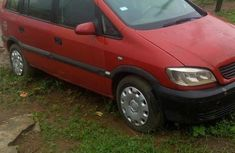 Opel Zafira 2000 Red for sale