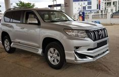 Like Brand New Toyota Land Cruiser Prado 2018 Silver