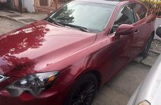 Lexus IS250 2008 Red for sale
