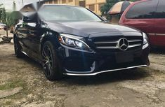 Mercedes Benz C300 4matic 2017 Blue for sale