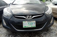 Hyundai Elentra 2014 Black for sale