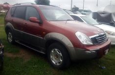 Ssangyong Rexton 2003 Red for sale