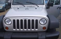 Jeep Wrangler 2007 Silver for sale