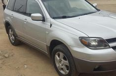 Foreign Used Mitsubishi Outlander 2003 Silver