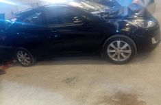 Clean Used Hyundai Accent 2012 Black for sale