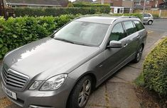 Mercedes-benz E250 2014 Silver for sale