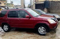 Cheap Honda CRV 2002 Red for sale