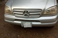 Mercedes-Benz ML320 2001 Silver for sale