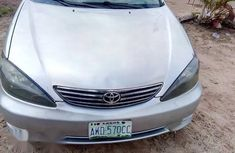 Very Neat Nigerian Used Toyota Camry 2005 Silver For Sale