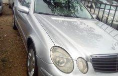 Mercedes Benz E320 2006 Silver for sale