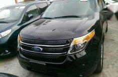 Clean Ford Explorer 2012 Black for sale