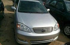 Factory fitted Toyota Corolla 2006 Silver for sale