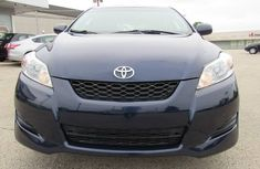 Clean Toyota Matrix 2009 Blue for sale