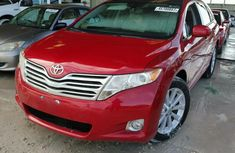 Clean Red Toyota Venza 2011 for sale