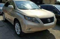 Lexus RX 350 2009 Gold for sale