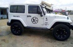 Tokunbo Jeep Wrangler 2015 White for sale