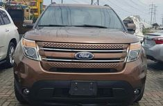 Ford Explorer Limited 2012 Brown for sale