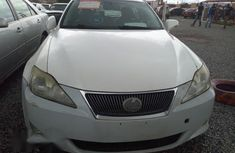 Lexus IS250 2010 White for sale