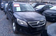 Very Clean Volkswagen Tiguan 2009 Black for sale