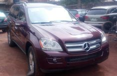 Mercedes Benz GL450 2008 Red for sale
