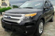 Tokunbo Ford Explorer XLT 2015 Black for sale