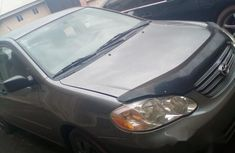 Tokunbo Toyota Corolla 2004 Silver for sale