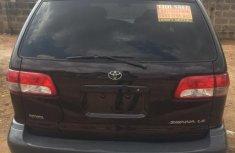 Toyota Sienna 2001 Black for sale